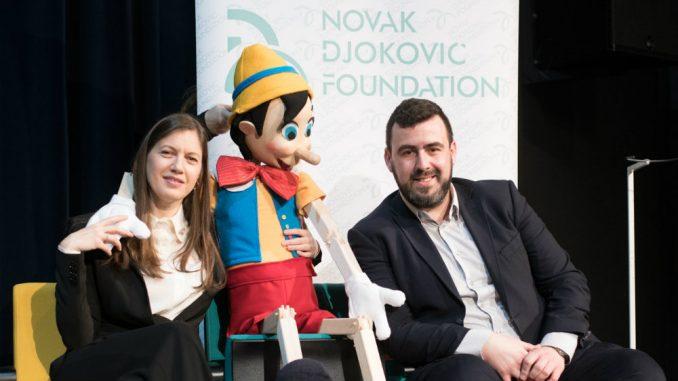 Fondacija Novak Đoković donirala više od osam miliona dinara pozorištu Pinokio 3