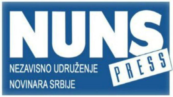 NUNS osudio ometanje u radu i uvrede upućene novinarki TV Prva 2