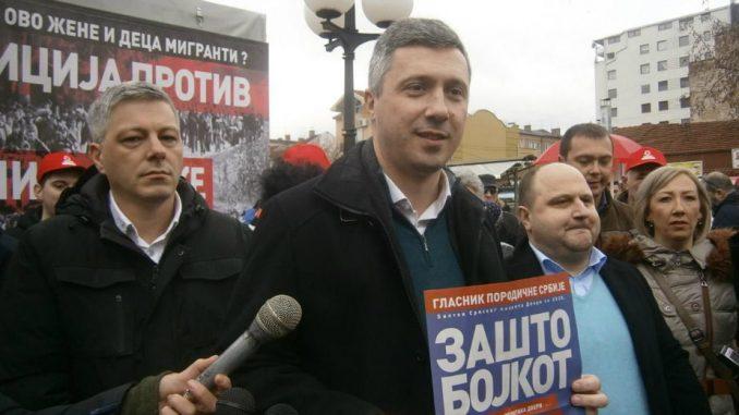 Obradović: Dveri će sutra u Skupštini Srbije saopštiti da li bojkotuju izbore 4