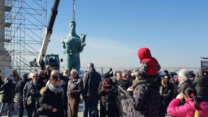 Posetioci Beogradske tvrđave mogu danas do 16 časova uživo da vide Pobednika (FOTO) 3