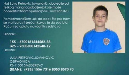 Humanitarna pomoć za Luku koji boluje od osteosarkoma 14