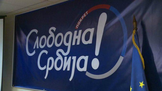 Pokret Slobodna Srbija priključio se opoziciji koja bojkotuje izbore 21. juna 3