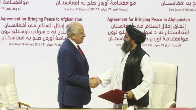 SAD i Talibani potpisali sporazum za okončanje rata u Avganistanu 7