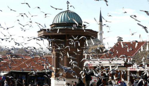 Komemoracija u čast civila stradalih na pijaci Markale tokom opsade Sarajeva 14