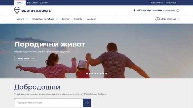 Novi Portal eUprava dostupan građanima 1
