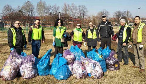 Zelene brigade u akciji prikupljanja smeća na javnim površinama 11
