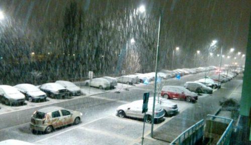 Širom Srbije noćas susnežica i sneg 14