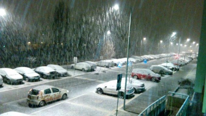 Širom Srbije noćas susnežica i sneg 1