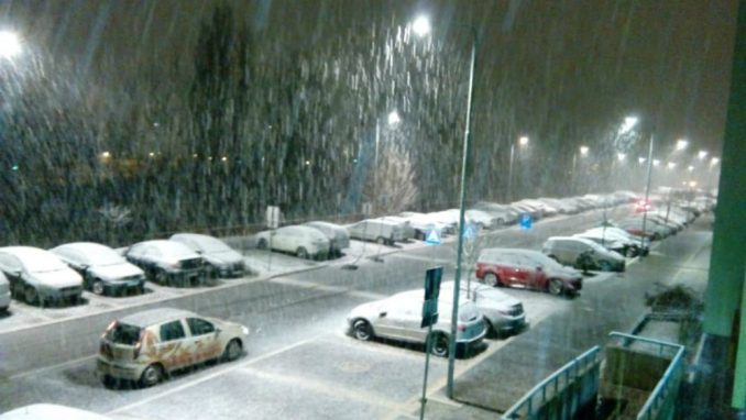 Širom Srbije noćas susnežica i sneg 2