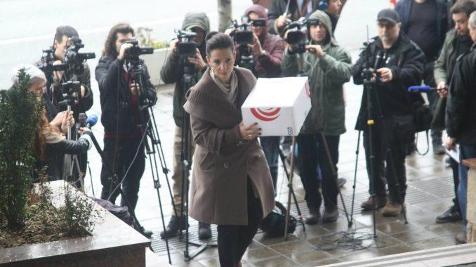 Tepić predala tužilaštvu dokaze o pljački vojne industrije, posebno Krušika 4