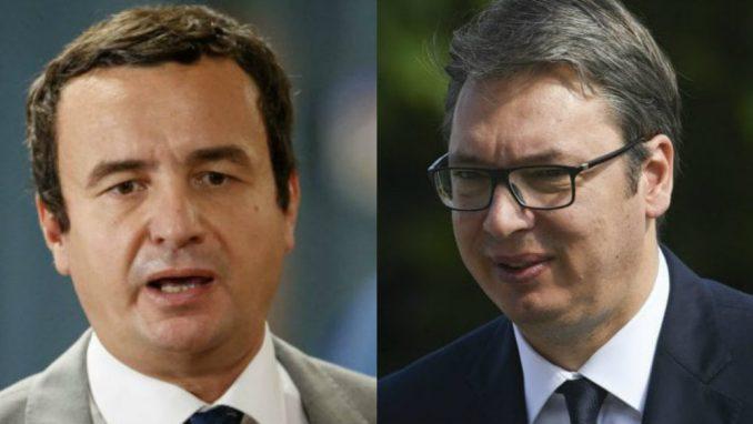 Koha: Na sastanku prvi sukobi između Vučića i Kurtija 4