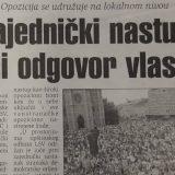 Udruživanje opozicije pred izbore 2000. i 2020. 9