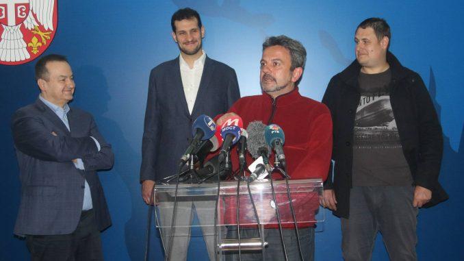 Dačić primio srpske državljane evakuisane iz Vuhana 2