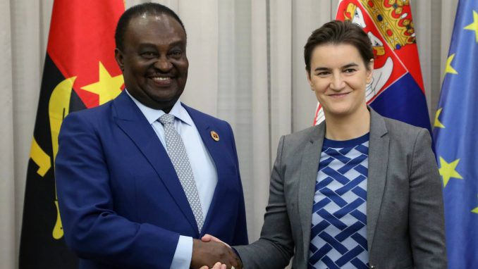 Brnabić i predsednik Parlamenta Angole o jačanju ekonomske saradnje 2
