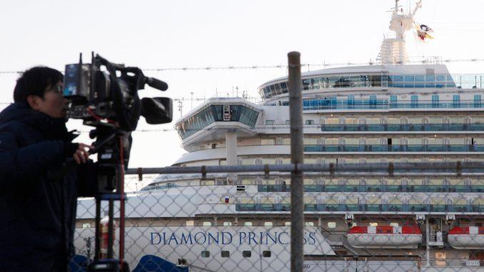 Britanija vraća svoje državljane sa kruzera u karantinu u luci u Japanu 3