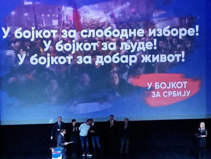 Stranka slobode i pravde Zrenjanin: Bojkot lokalnih, pokrajinskih i republičkih izbora 4