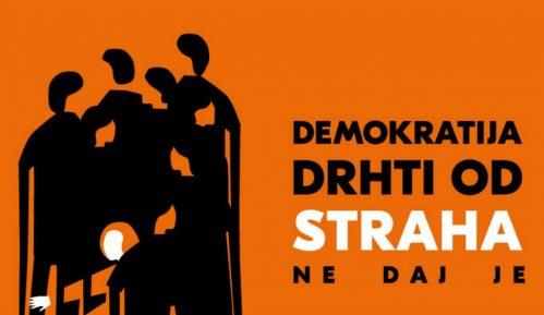CRTA: Demokratija drhti od straha. Ne daj je! 15