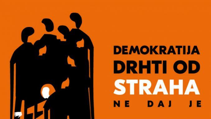 CRTA: Demokratija drhti od straha. Ne daj je! 4