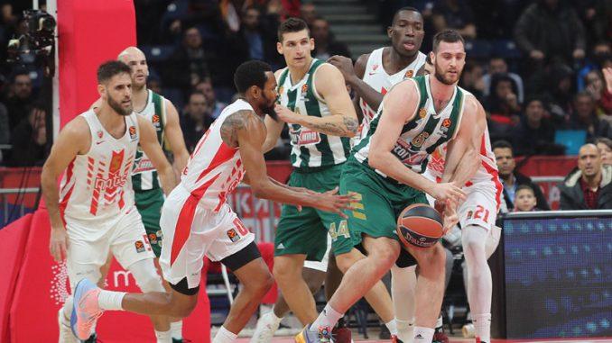 Košarkaši Zvezde pobedili Panatinaikos 4