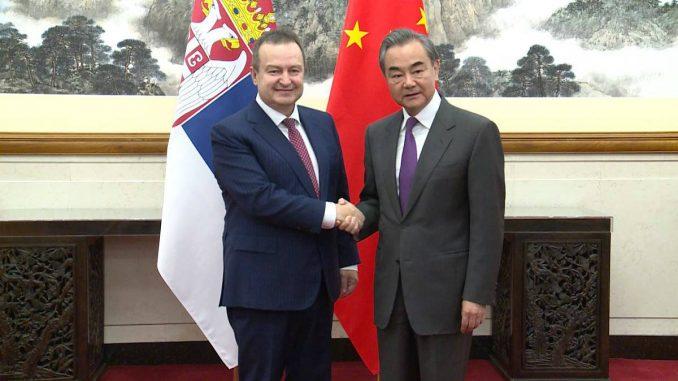Dačić: Ponosan sam što sam prvi ministar koji je posetio Kinu koja se bori s korona virusom 1