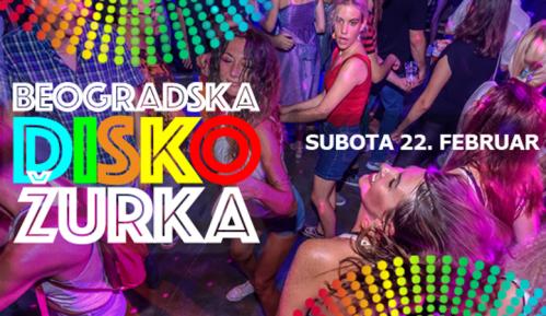 Beogradska Disko Žurka - Belgrade Disco Fever u Dorćol platzu 2