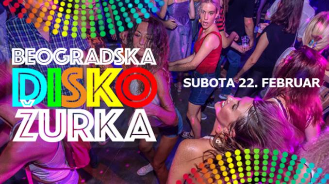Beogradska Disko Žurka - Belgrade Disco Fever u Dorćol platzu 3