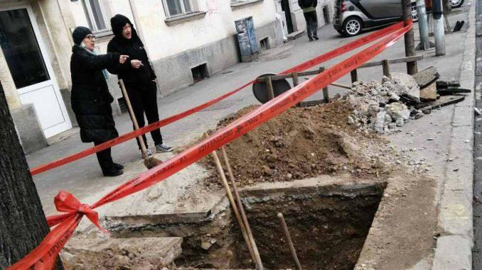 """Protest udruženja """"Komšije sa Dorćola"""" i novo kršenje zakona gradskih vlasti 2"""