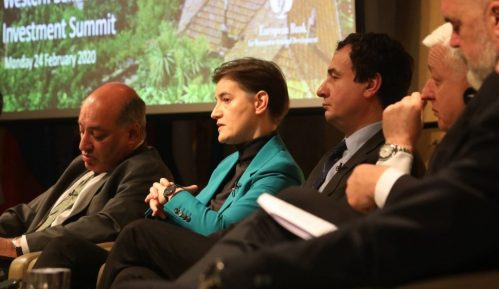Brnabić na Investicionom samitu: Iskoristiti potencijal Zapadnog Balkana 8