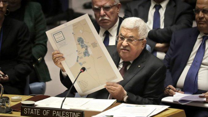 Abas u UN potvrdio da odbacuje Trampov plan za palestinsku državu kao 'švajcarski sir' 3