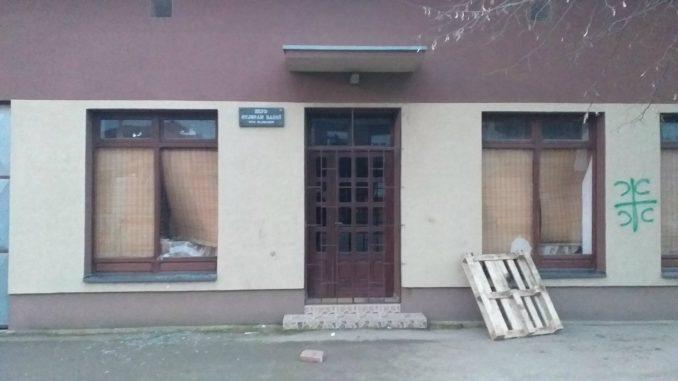Napad na sedište Hrvatskog društva u Novom Slankamenu 2