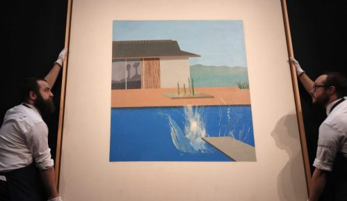 Hoknijeva slika bazena prodata za 27,4 miliona evra 5