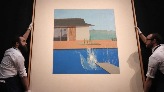 Hoknijeva slika bazena prodata za 27,4 miliona evra 1
