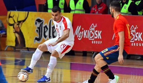 Futsaleri Srbije poraženi od Španije 5