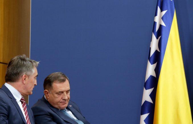 Dodik, Komšić i Džaferović preneli ambasadorima EU opredeljenost za sprovođenje reformi 5