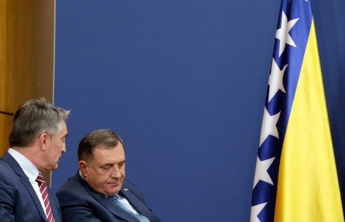 Dodik, Komšić i Džaferović preneli ambasadorima EU opredeljenost za sprovođenje reformi 3