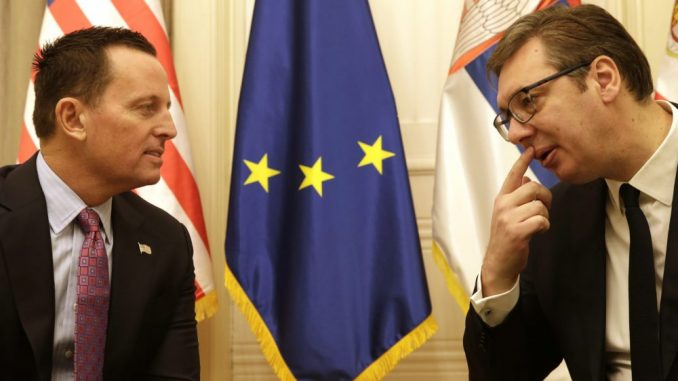 Sutra sastanak Vučića i Grenela 2