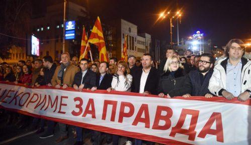 Zaev na protestnom maršu: Narod je željan efikasne, brze i pravične pravde 2