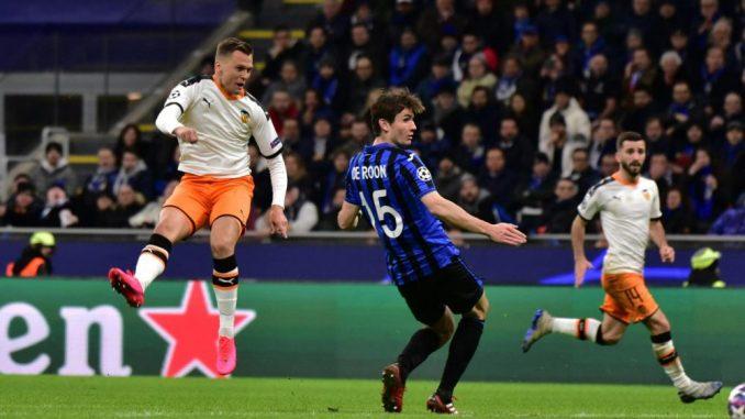 Atalanta ubedljiva protiv Valensije u osmini finala Lige šampiona 2