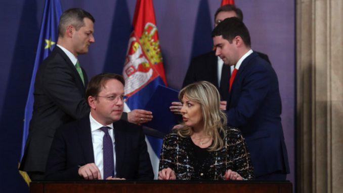 EU i Vlada Srbije potpisale sporazum, dodatnih 139 miliona evra donacija 2