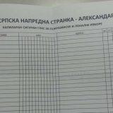 Prikupljanje kapilarnih glasova za SNS podelilo sindikalce 1