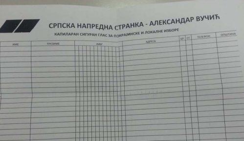 Prikupljanje kapilarnih glasova za SNS podelilo sindikalce 10