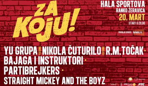 """Novi koncert """"Za Koju"""" 20. marta 4"""