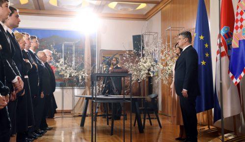 Zoran Milanović položio zakletvu kao novi predsednik Hrvatske (FOTO) 2