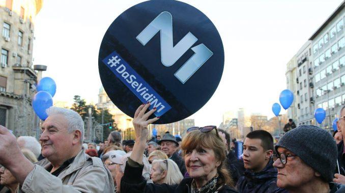 Menadžment N1: Distributeri besplatno da emituju N1 kada dobije nacionalnu frekvenciju 7