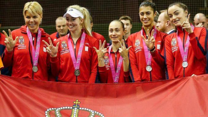 Fed kup tim Srbije u plej ofu protiv Kanade 5