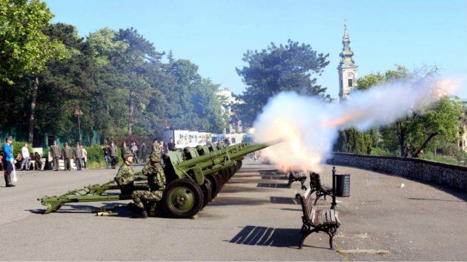Počasna artiljerijska paljba 1