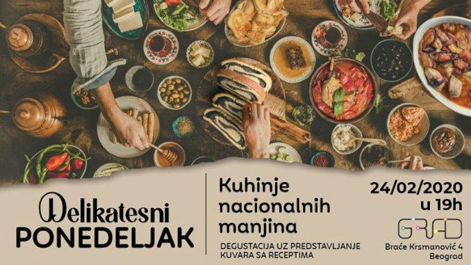 KC Grad: Kuhinje nacionalnih manjina na Delikatesnom ponedeljku 5