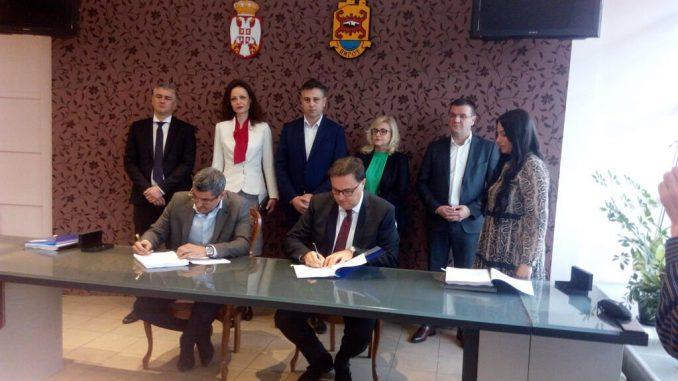 U Pirotu potpisan ugovor o rekonstrukciji 17 putnih pravaca u zoni Koridora 10 3