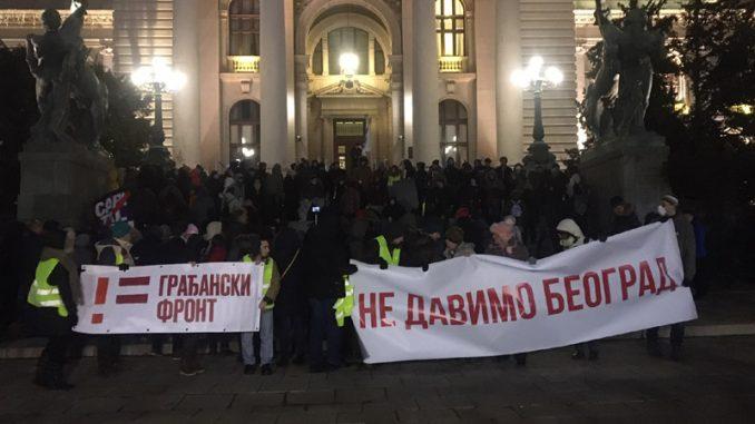 Protesti protiv zagađenja širom Srbije (VIDEO, FOTO) 9