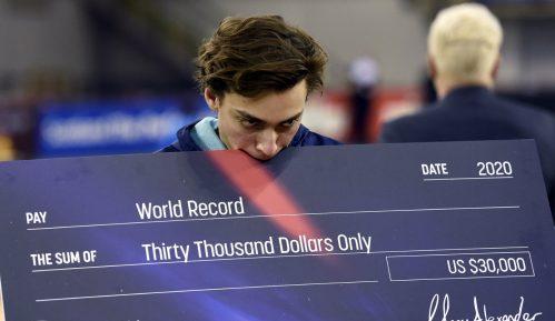 Novi svetski rekord Duplantisa u skoku s motkom 10